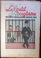 TINTIN THE Petit Vingtième n°43 du 26 octobre 1939 Condition correct