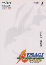 2005 TAITO USAGI YASEI NO TOUPAI ONLINE JP VIDEO FLYER