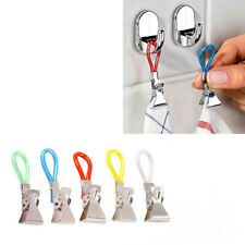 Durable Tea Towel Hanging Clips Clip On Hook Loops Hand Towel Hangers 5Pcs