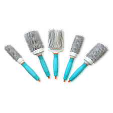 Set Of 5 Moroccanoil Ionic Cramic Thermal Brush: Round 55, 45, 35 ,25 & Paddle