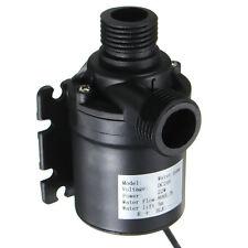 12V 24V Mikro Bürstenlosen Solar Wasserpumpe Tauchpumpen Umwälzpumpe Motor Pumpe