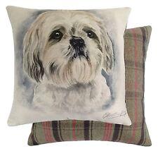 "17"" Shihtzu Dog Cushion Evans Lichfield DP926 43cm Waggydogz"
