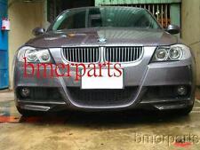 BMW E90 330I 325I 06-08 SPORTS M-TECH PACKAGE CARBON FIBER FRONT LIP SPLITTERS
