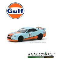 Greenlight 1:64 Tokyo Torque Series 8 2001 Nissan Skyline GT-R BNR34