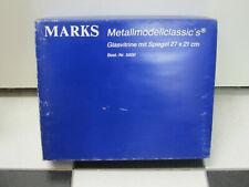 Glasvitrine / Schaukasten mit Spiegel, 28 x 19 cm, Marks Metallmodelclassic's