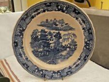 Decorative c.1840-c.1900 Date Range Willow Pattern Transfer Ware Pottery