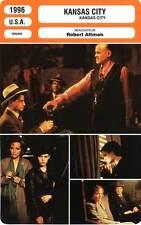 FICHE CINEMA : KANSAS CITY - Jason Leigh,Richardson,Belafonte,Altman 1996
