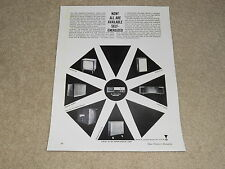 JBL 1964 Speaker Ad, Energizer C53, Paragon, Olympus, C38, Article, Specs 1 page