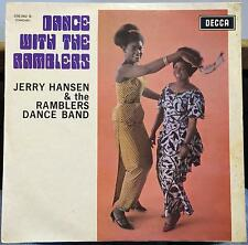 Jerry Hansen & The Ramblers Dance Band - Dance With LP VG 258.062 France 1967