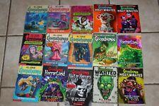 Lot of 15 Goosebumps R. L Stine Books Paperback ! Horror