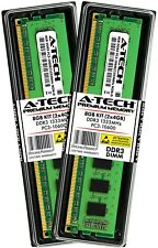 A-Tech 8GB 2 X 4GB PC3-10600 Desktop DDR3 1333 Mhz 240-Pin DIMM de memoria RAM 8G 4G