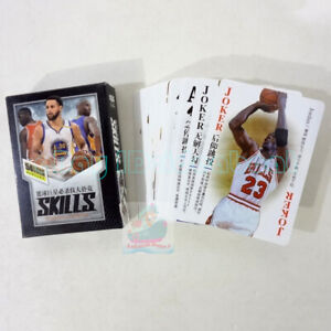 Deck 54 cards of The NBA Basketball Stars Slam Dunk Skills Playing card/Poker