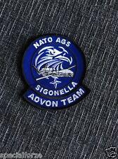 PATCH  AERONAUTICA MILITARE - NATO AGS SIGONELLA - ADVON TEAM