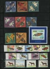 "BHUTAN COLLECTION **MNH STAMPS,  AND BLOCKS, ""ANIMALS"""