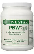 Powdered Brewery Wash 4oz PBW Food Grade Cleaner for Beer Wine Keg Carboy bucket