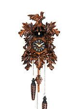 cuckoo clock black forest quarz german wood batterie clock handmade new