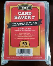 Cardboard Gold Card Saver 1 - 100 ct CBG PSA / BGS Grading - FREE Priority SHIP