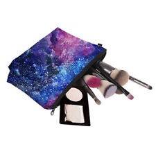 Starry Sky Pen Bag Pencil Case Cosmetic Bags Travel Makeup Pouch Storage Bag S