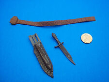 Marx (INDIAN KNIFE SHEATH BELT) Johnny West Best Of The West Cobra Horse Maddox