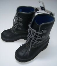 NWT GAP Kids Sz 2 Black Thinsulate Winter Duck Boots