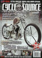 Cycle Source August / September 2020  Issue 3 David Mann Chopperfest