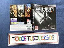 Portada Call Of Duty Black Ops II Ps3 Playstation 3 Pal ES BUENA CONDICION 3137