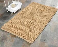 "Saffron Fabs Bath Rug Cotton & Microfiber 50x30"" Round Loop Bubbles Pattern- NOB"