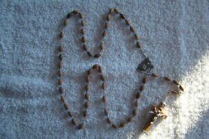 5 Dizain brown bead Rosary