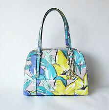 GUESS Huntley Cali MEDIUM Satchel Periwinkle Multicolor, Handbag MSRP$118