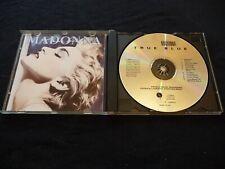 MADONNA TRUE BLUE CD  (1986) UK PRESS NIMBUS PRESS (RARE)