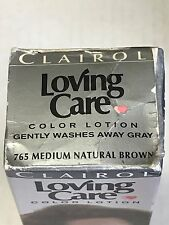Clairol Loving Care Color Lotion 765 Medium Natural Brown