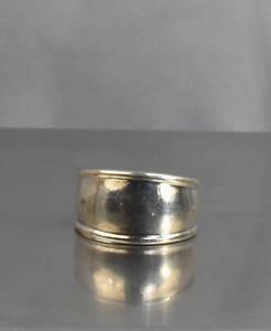 CrazieM Sterling 925 Silver Vintage Southwest Estate Ring Size 7.25 4.4g x04