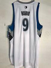 Adidas Swingman NBA Jersey Minnesota Timberwolves Ricky Rubio White sz 3X