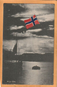 Norway Old Postcard Mailed
