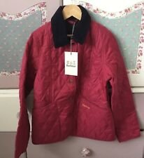 BNWT BARBOUR COAT AGE 8-9 RRP £85