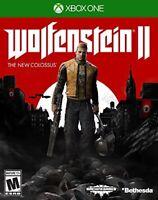 Wolfenstein II: The New Colossus - Microsoft Xbox One XBO XB1