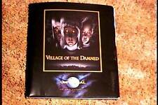 VILLAGE OF THE DAMNED  PRESS KIT W 6 PHOTOS HORROR