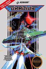 RGC Huge Poster - Gradius Original Nintendo NES BOX ART - NES027