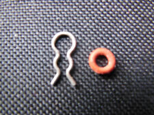 2 Stück Saeco, Miele,  u.a. O Ring, Dichtung inkl. Klemme f. 4mm Schlauch