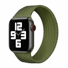 Correa Trenzado de Silicona de bucle solo Elástico Cinturón para Apple Watch 6 se 5 4 3 21 Banda