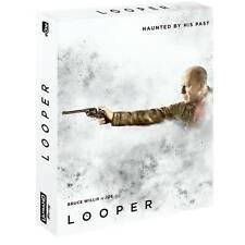 Looper UK Exclusive 4K UHD Steelbook with Very Ltd Slip Case Edition OOS Presale