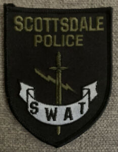 Scottsdale Police SWAT patch