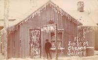 Mt Mount Olive Illinois~January 30 Fire~JW Chase Gallery~Photographer~1909 RPPC