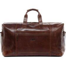 Reisetasche Leder Bristol Weekender XXL Sporttasche Schulter Tasche Herren braun