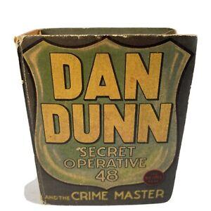 Dan Dunn Secret Operative 48 & The Crime Master BLB #1171 1937 Norman Marsh