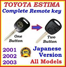 TOYOTA ESTIMA / TARAGO REMOTE KEY JAPANESE VERSION ACR30 / MCR30 - ONE BUTTON