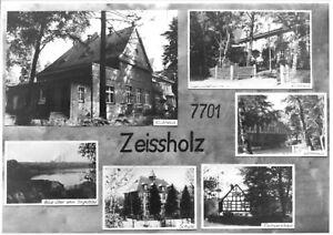 AK, Bernsdorf OT Zeissholz, sechs Abb., um 1970