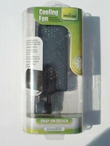 Xbox 360 Cooling Fan dreamGEAR Snap-On Design Black