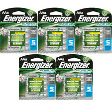 5 Pack Energizer Rechargeable Power Plus AA Batteries 2300mAh NiMH 8 pack Each