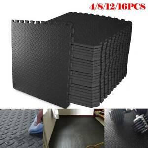 24PCS Interlocking Floor Mats Gym Flooring Soft EVA Foam Play Mat Yoga Tiles UK